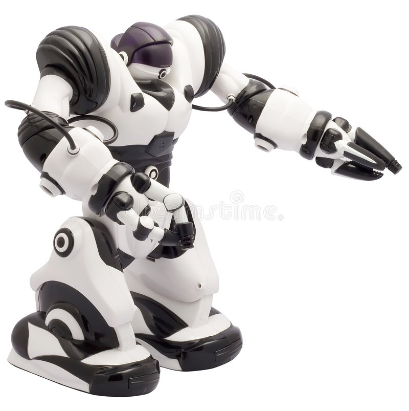 robot zabawka