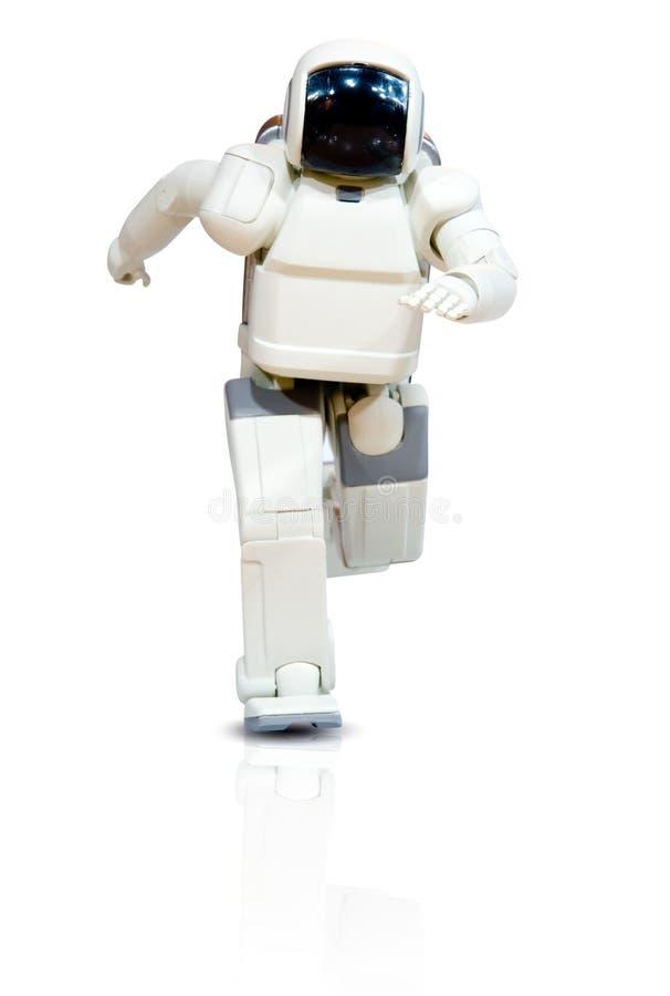 robota biegnącego zdjęcie stock