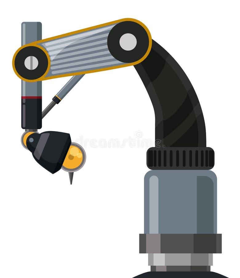 Robota cyfrowy projekt ilustracja wektor