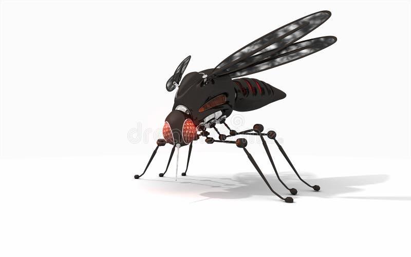 Robota komar ilustracji