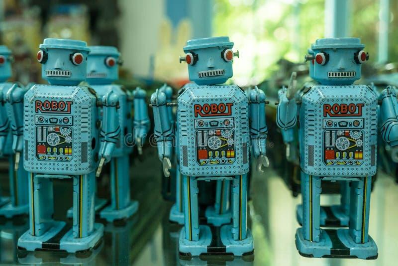 Robota rocznik w Thailand obraz royalty free