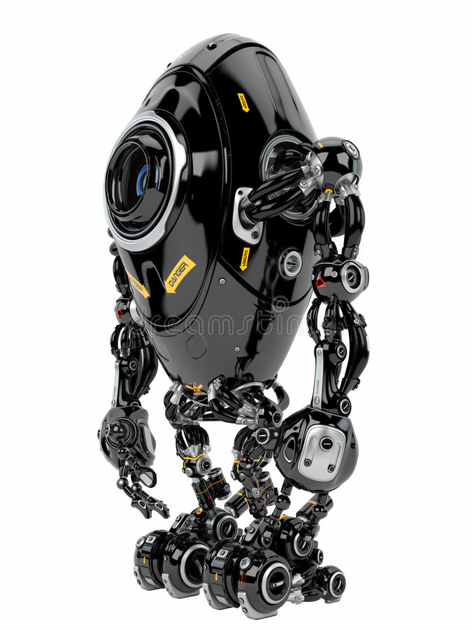 Robotachtig schepsel stock foto