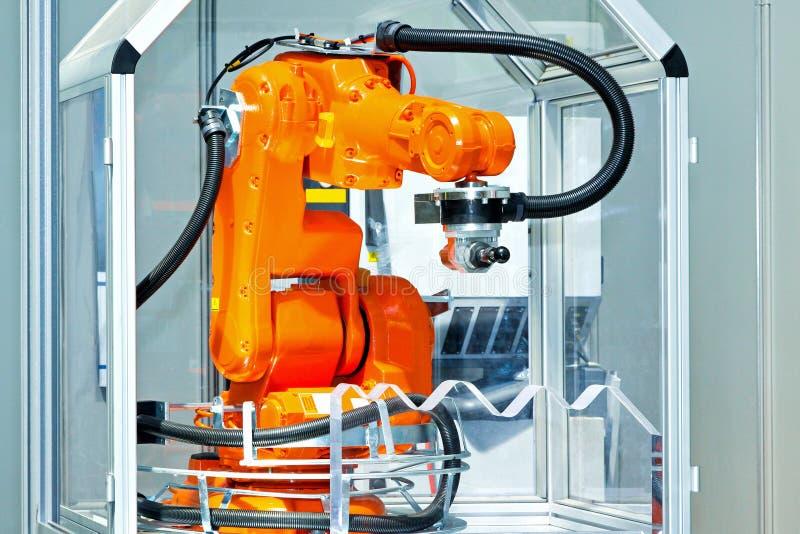 Robotachtig wapen royalty-vrije stock foto's