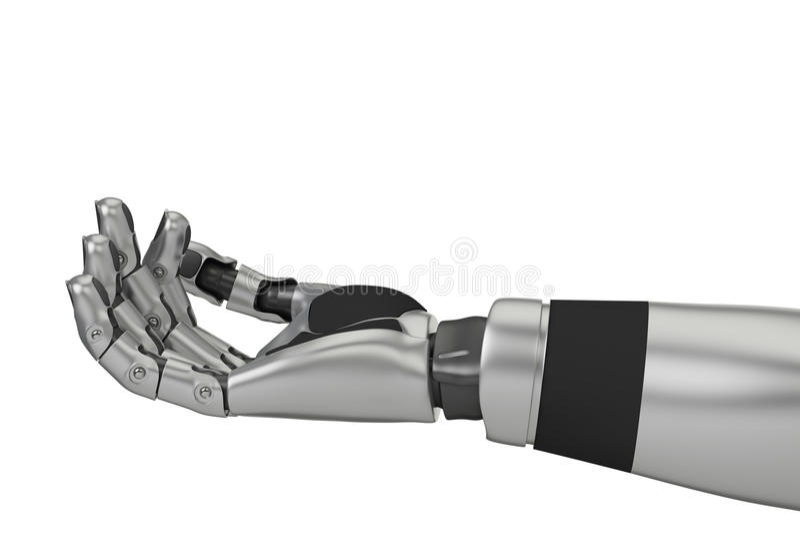 Robotarm stock illustrationer