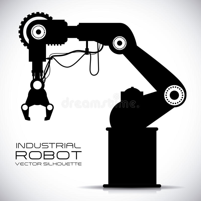 Robotdesign stock illustrationer