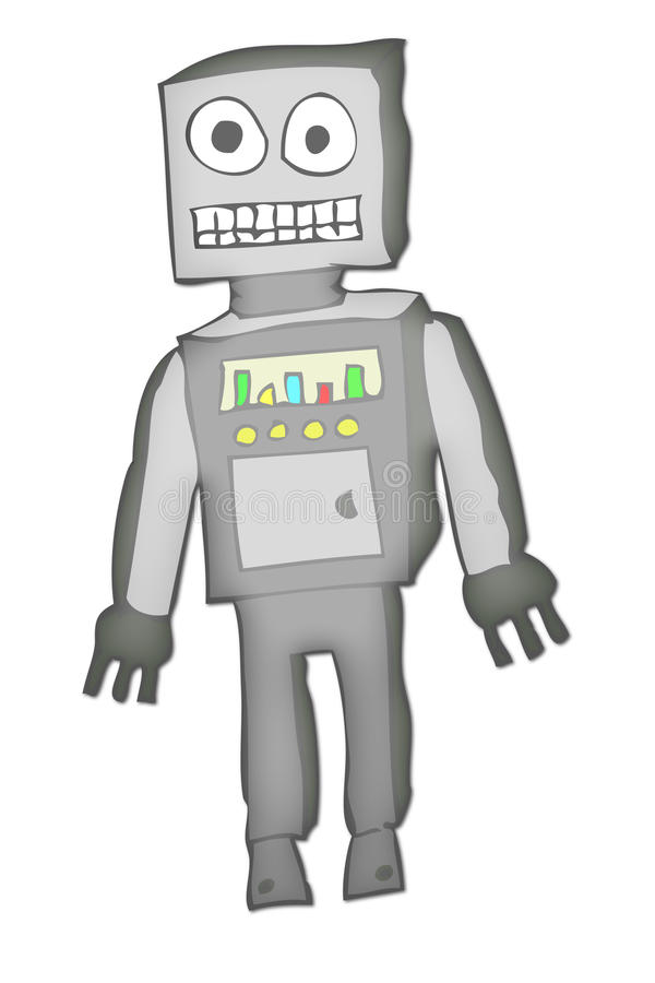 Roboter 1 vektor abbildung