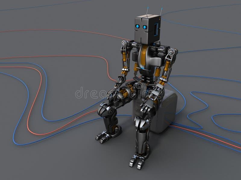 Roboter stock abbildung