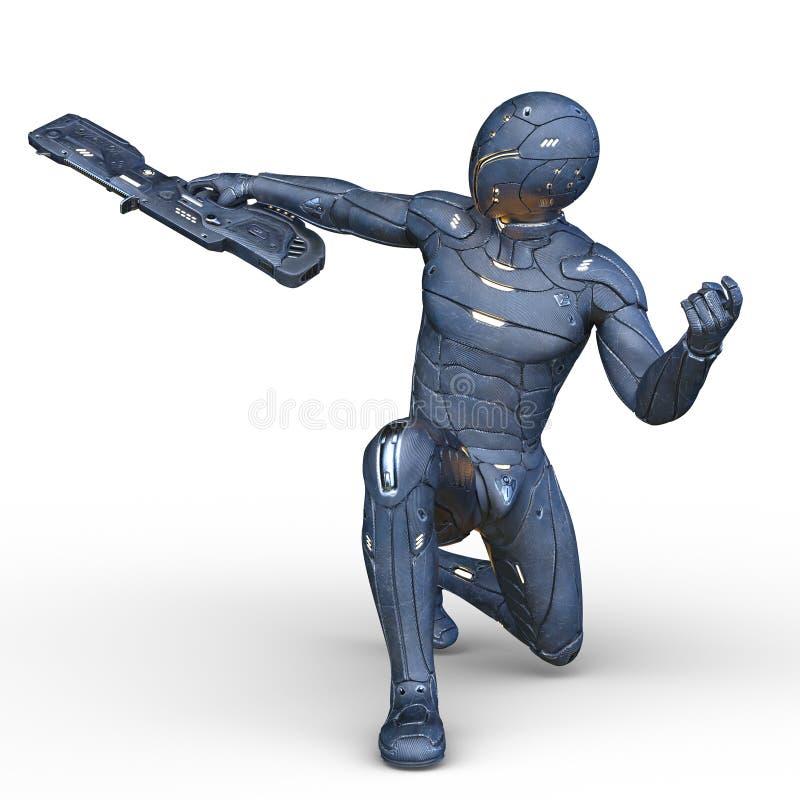 roboter lizenzfreie abbildung