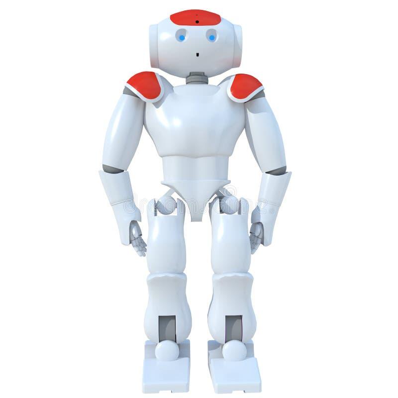 Roboter 7 stock abbildung
