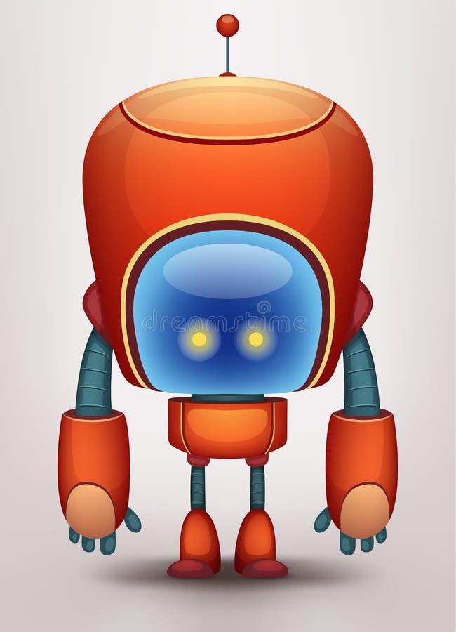 roboter vektor abbildung