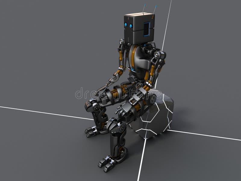 Roboter sists lizenzfreie abbildung