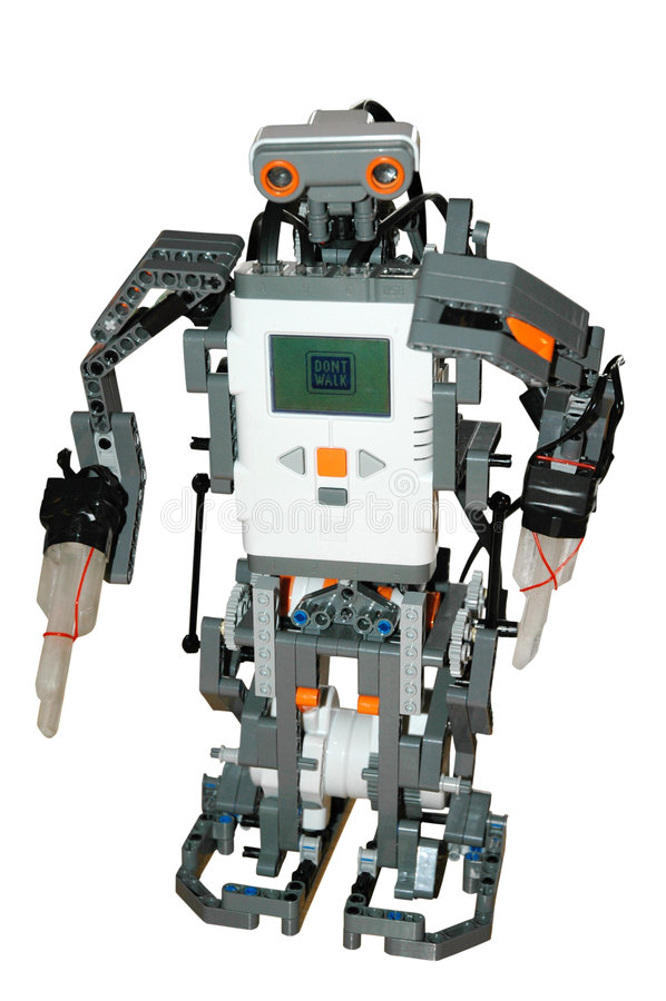 Roboterabbildung lizenzfreie stockbilder