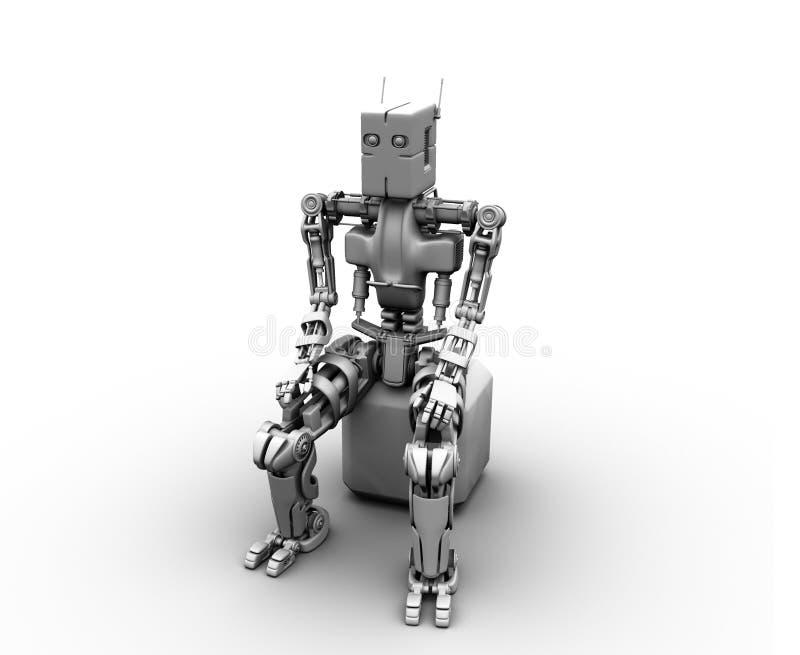 Roboterabsorption lizenzfreie abbildung