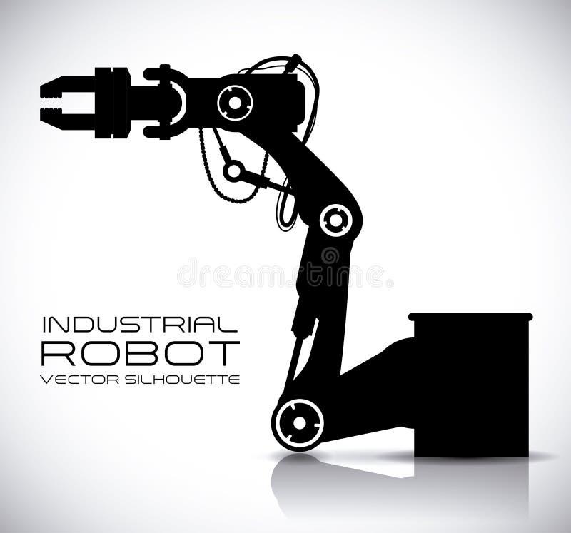 Roboterdesign lizenzfreie abbildung