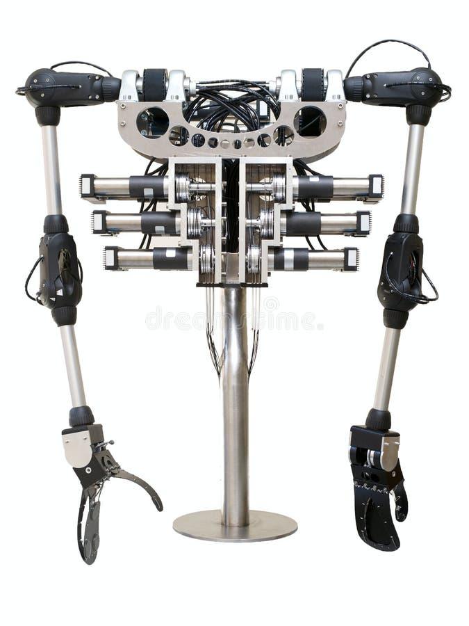 Roboterkarosserie stockbild