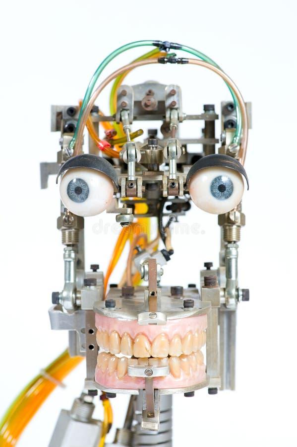 Roboterkopf stockbilder