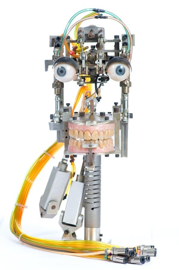 Roboterkopf lizenzfreie stockfotografie