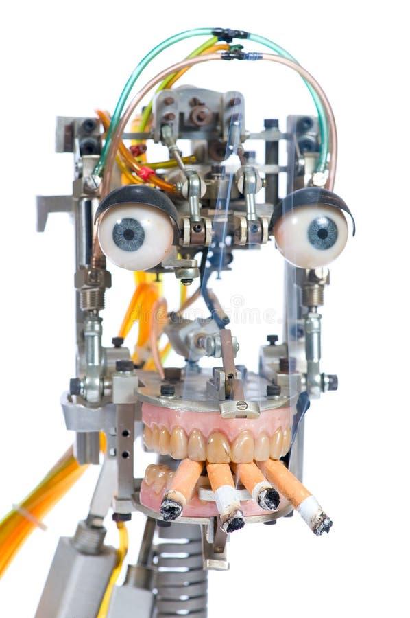Roboterkopf stockfotografie