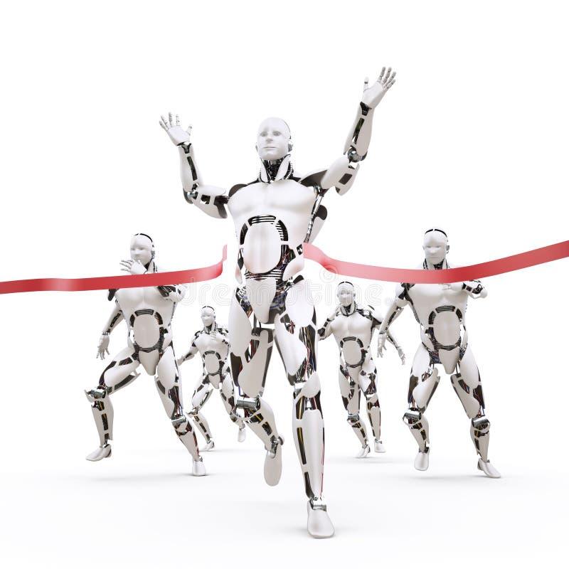 Robotermeister lizenzfreie abbildung