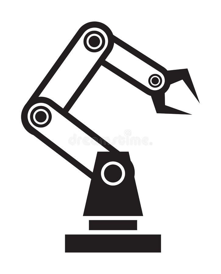 Robothand vector illustratie