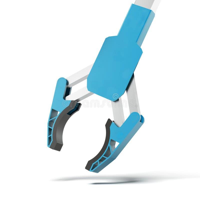 Robotic arm vektor illustrationer