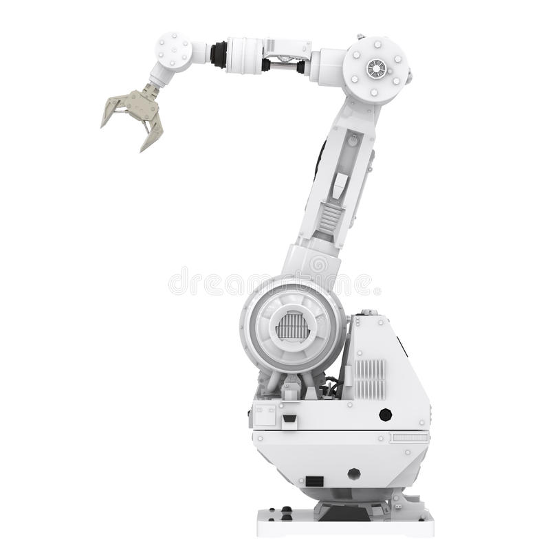 Robotic arm arkivfoton