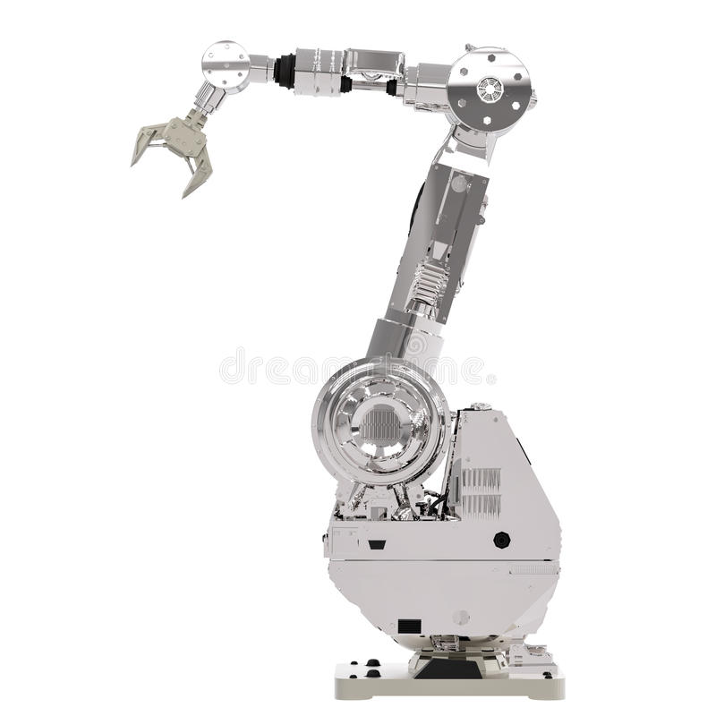 Robotic arm royaltyfri bild