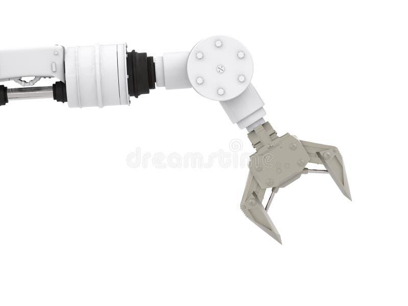 Robotic arm stock illustrationer