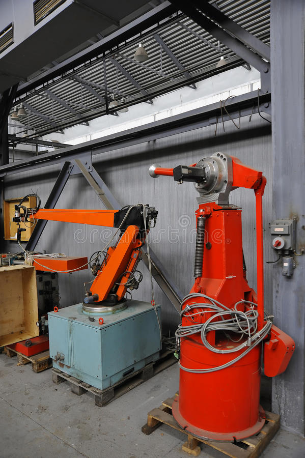 Download Robotic Arms stock image. Image of mechanical, movement - 11787115