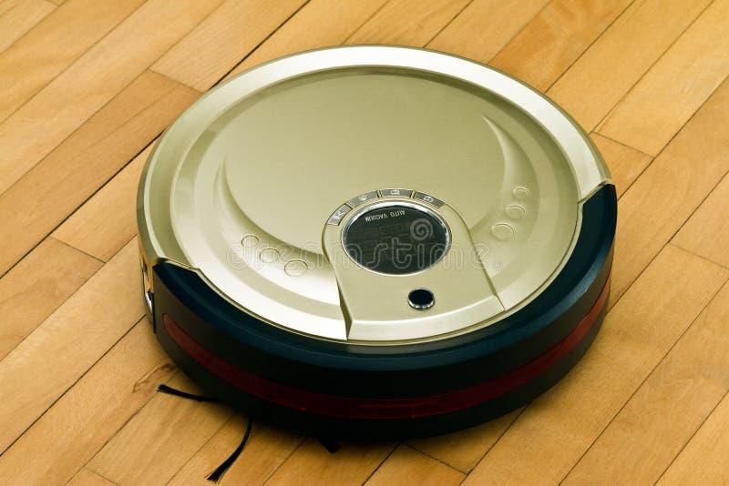 Robotic Vacuum Cleaner Royalty Free Stock Image