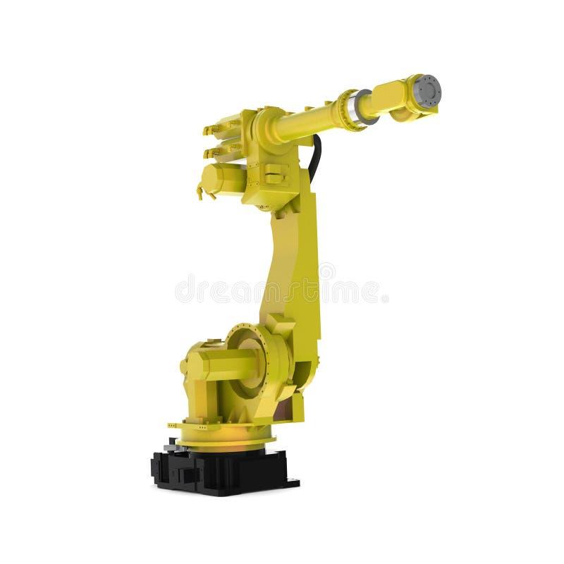 Robotique pour l'industrie illustration de vecteur