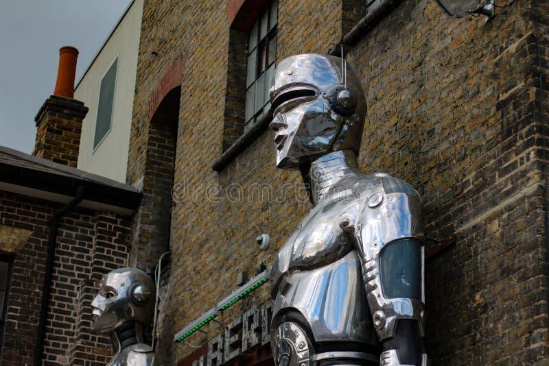 robots royalty-vrije stock foto