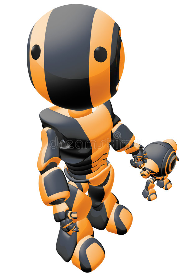 Robots family
