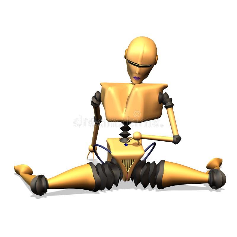 Download Robots No. 15 stock illustration. Image of development - 2312280