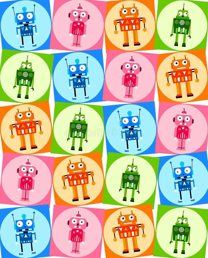 Robots royalty free illustration
