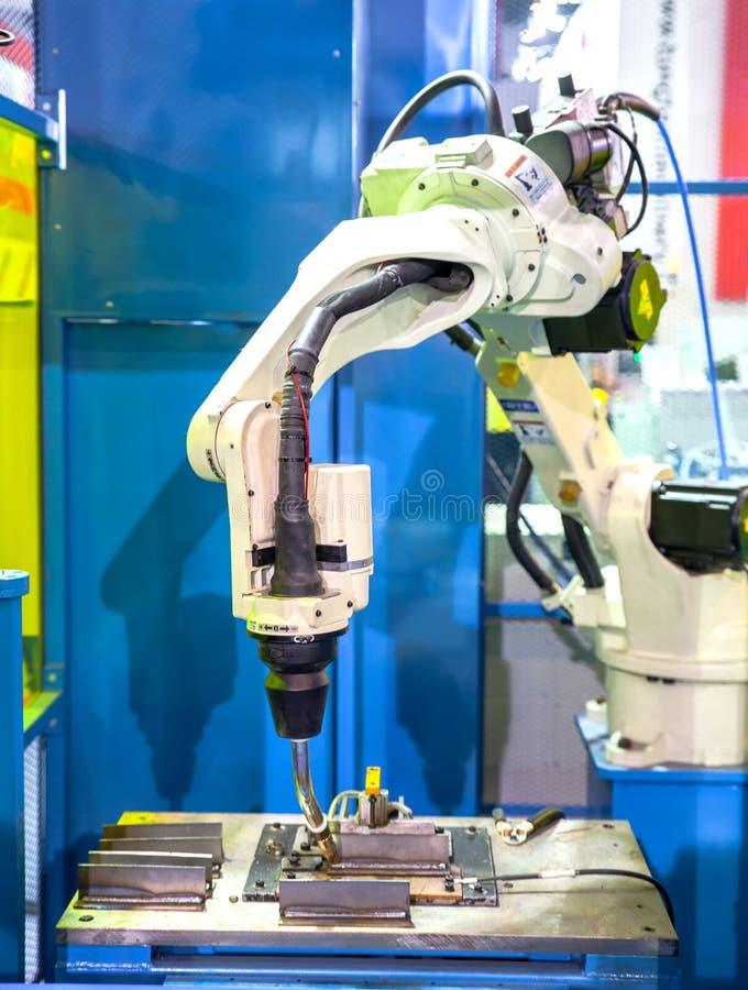 Robotshand royalty-vrije stock fotografie