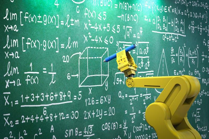 Robotwapen het leren stock illustratie