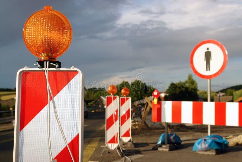 roboty drogowe zdjęcia stock