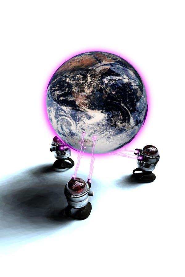 roboty globalne ilustracja wektor