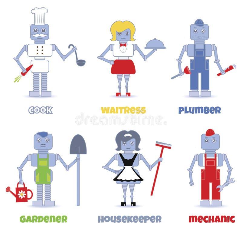 Robotyrken stock illustrationer
