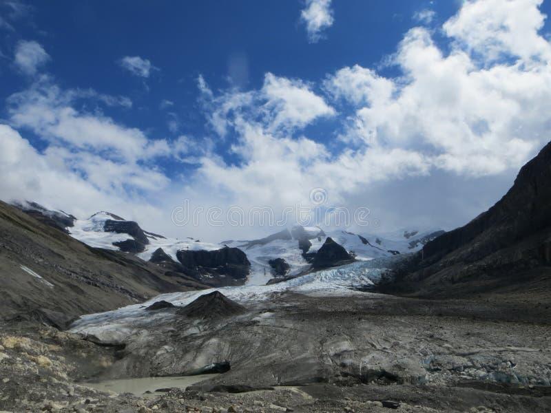 Robson Glacier lizenzfreie stockfotografie