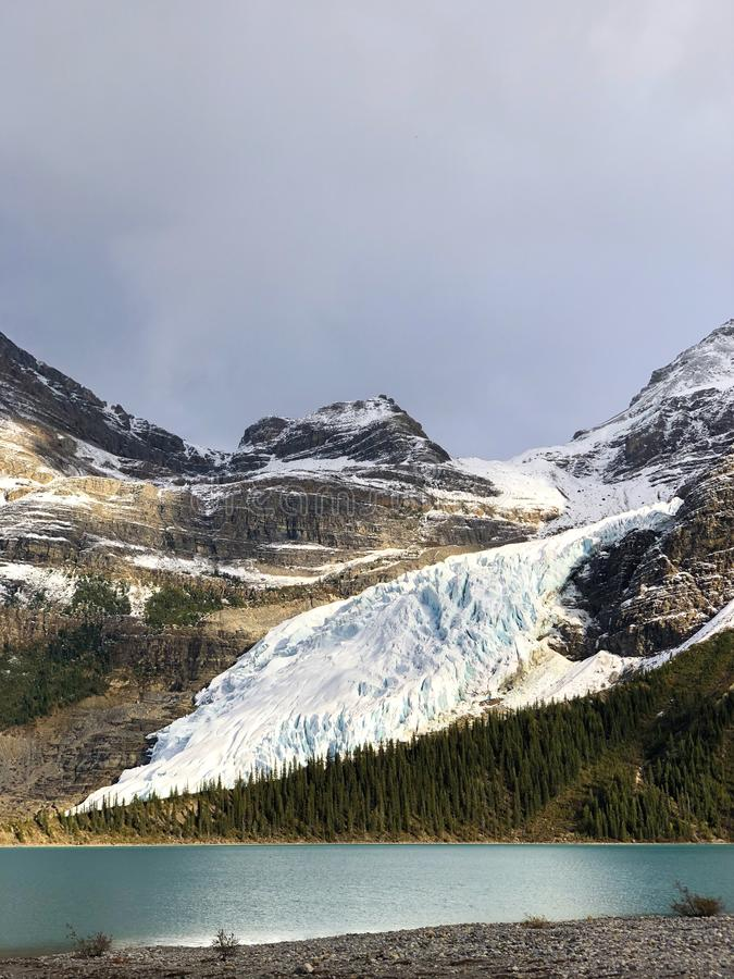 Robson Glacier stockfotografie