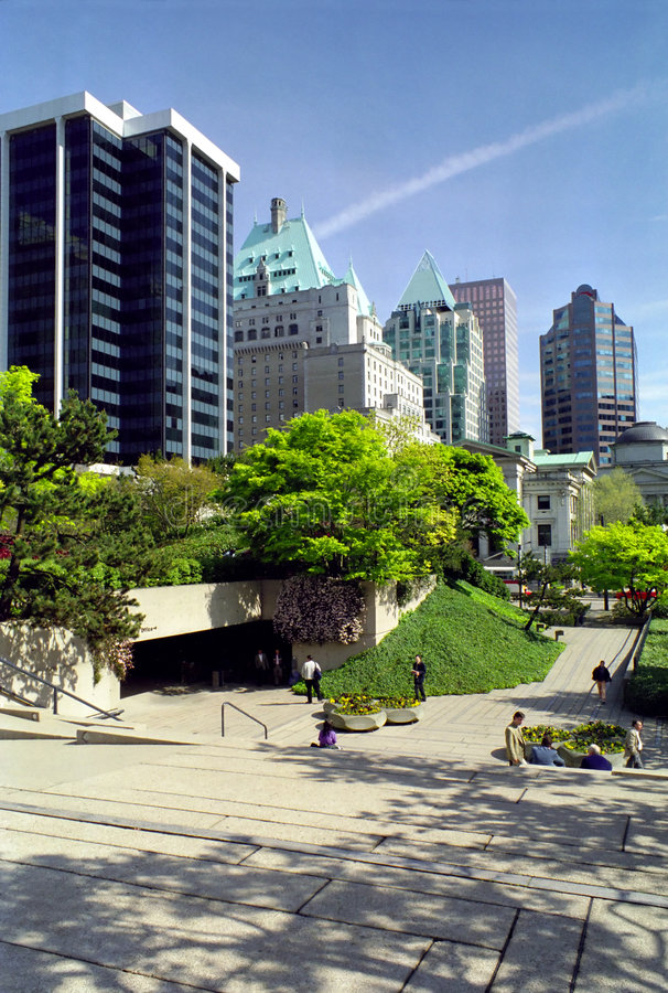 Download Robson Square Vancouver British Columbia Canada Stock Photo - Image: 2906554
