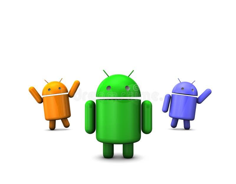 Robusteza androide fotografía de archivo