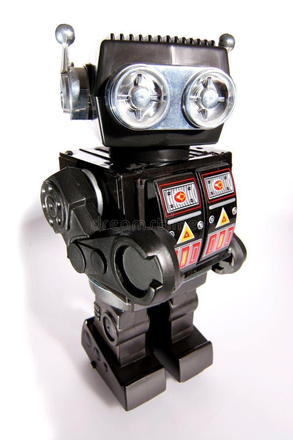 Robusteza vieja #2 del estaño del juguete imagen de archivo libre de regalías