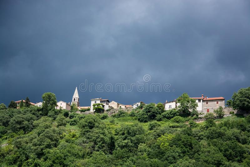 Roc, Istria, Croatie photo stock