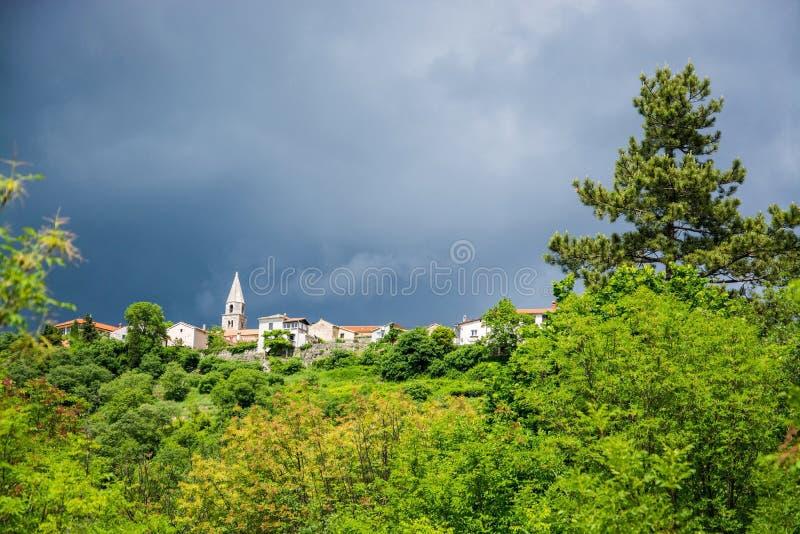 Roc, Istria, Croatie photo libre de droits