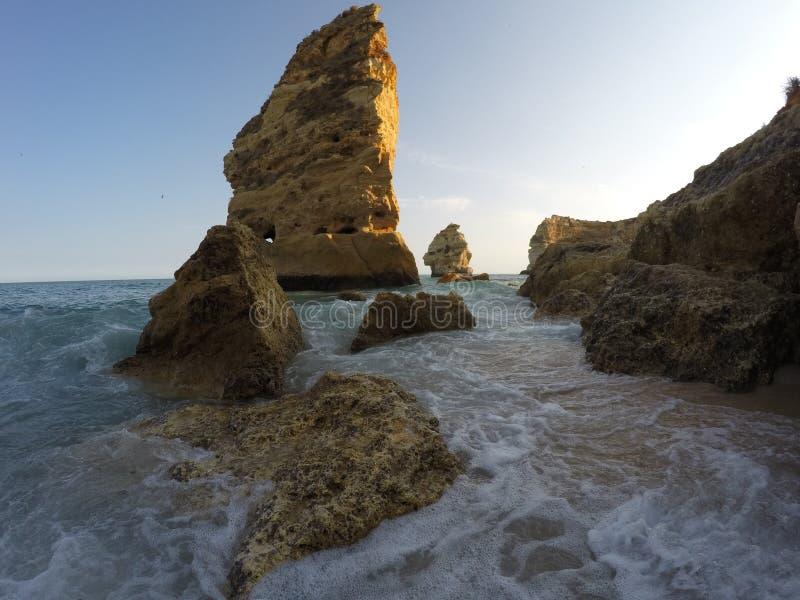 Roca Algarve Portugal stock foto