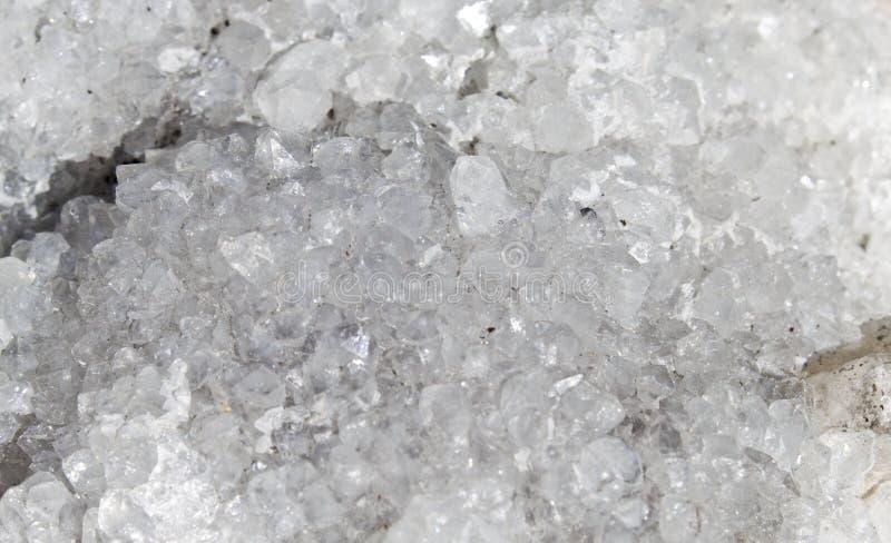 Roca blanca cristal imagenes de archivo