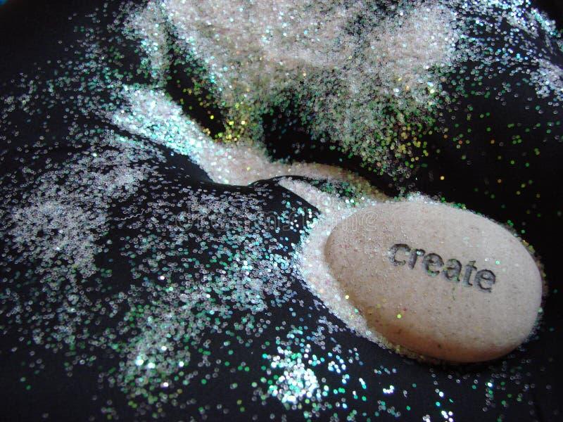 Roca creativa imagen de archivo